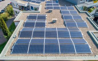 Flachdach - Ideal für Solaranlagen