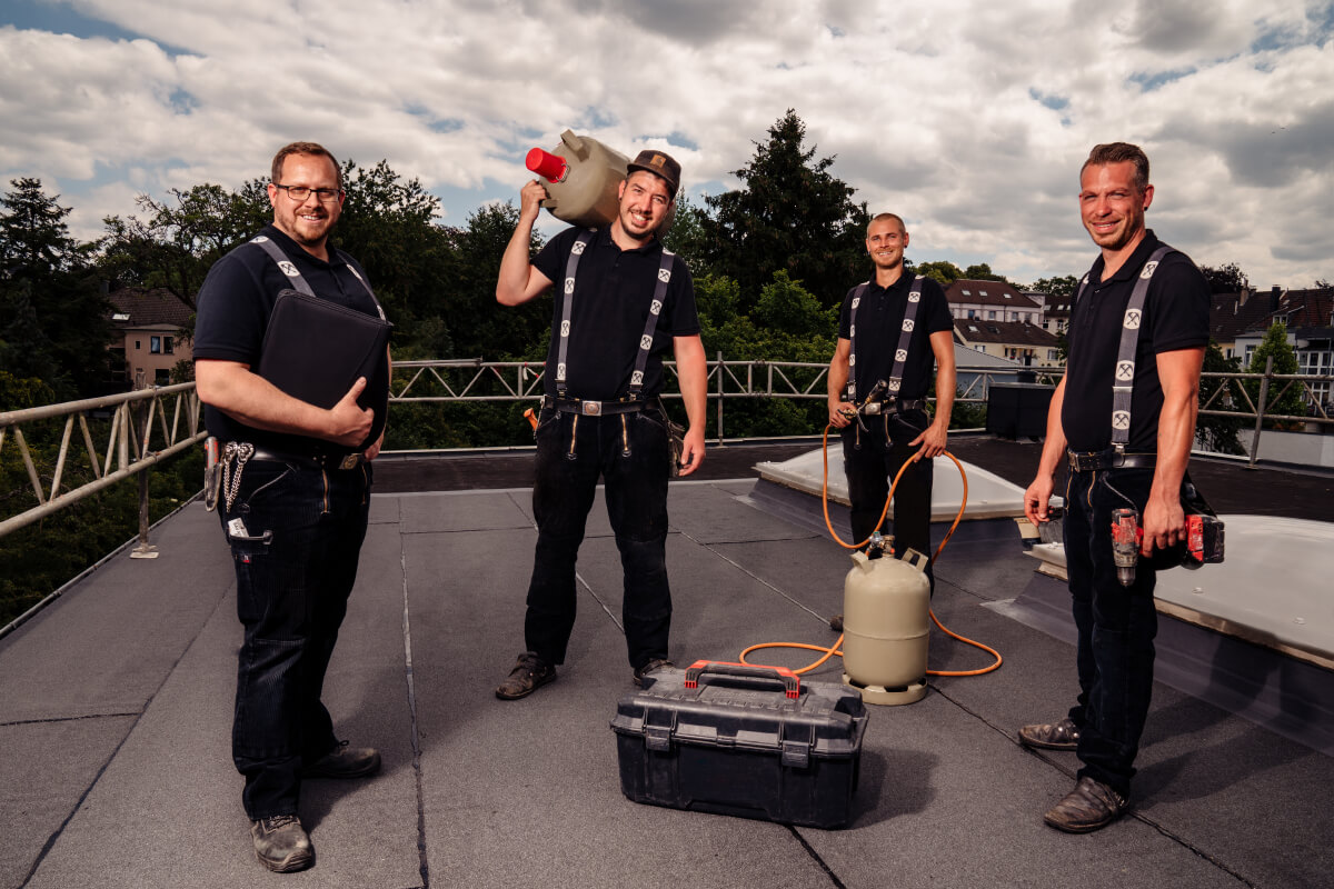Das Team von MT-Dachbau